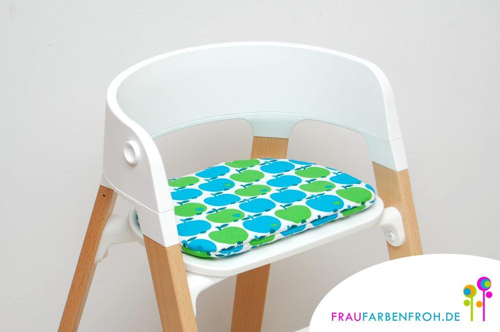 kissen f r stokke steps fraufarbenfroh. Black Bedroom Furniture Sets. Home Design Ideas
